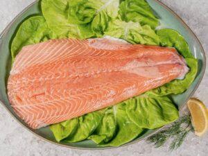 Salmon, Fresh, Herb Marinated