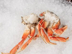 Dungeness Crab Claw Clusters (raw, frozen)