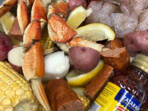 Crab & Shrimp Boil (serves 2)